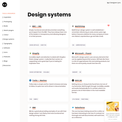 The best design-systems
