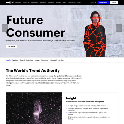 WGSN | Create Tomorrow | Trend Forecasting & Analytics
