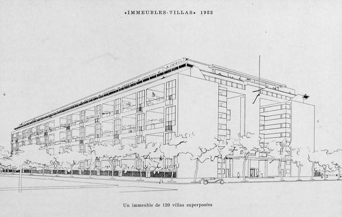 Le Corbusier - Immeubles Villas