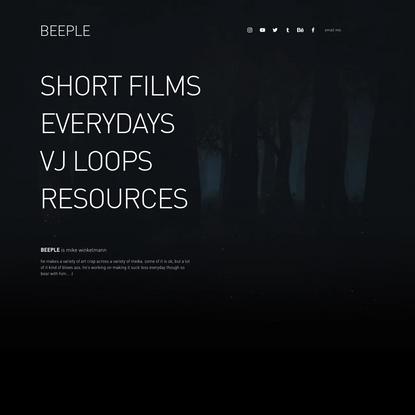 BEEPLE | The Work of Mike Winkelmann