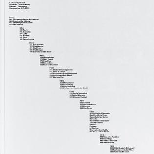 Three years ago. Staircase for Christian Kerez, ETH Zurich. #kompendium #ethzurich #architecture HS09-FS15 #bookdesig...
