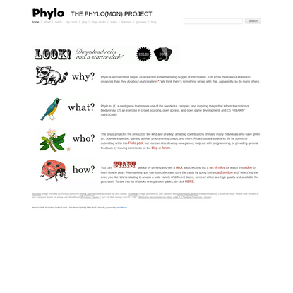 PHYLO: THE TRADING CARD GAME