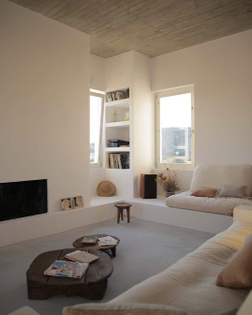 Maison Kamari in Kamari, Greece by React Architects. @spiridonos_react_architects @damiendemedeiros @alexaroundthewor...