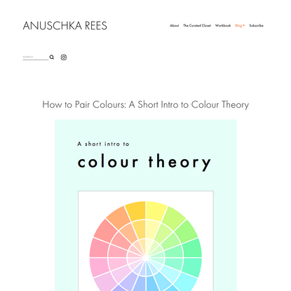 How to Pair Colours: A Short Intro to Colour Theory