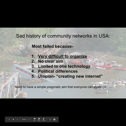 1/10 MeetUp Presentation - Post Grant Aims