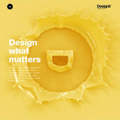 Global Homepage - Designit