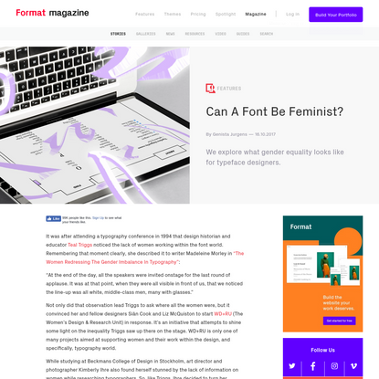 Can A Font Be Feminist?