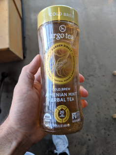 Argo cold brew Armenian mint herbal tea