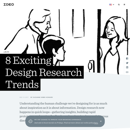 8 Exciting Design Research Trends