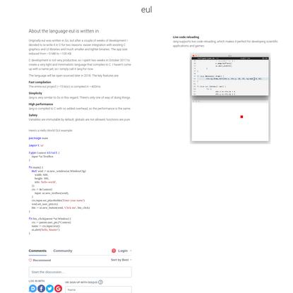 eul.im   fast native desktop client for all major messaging services