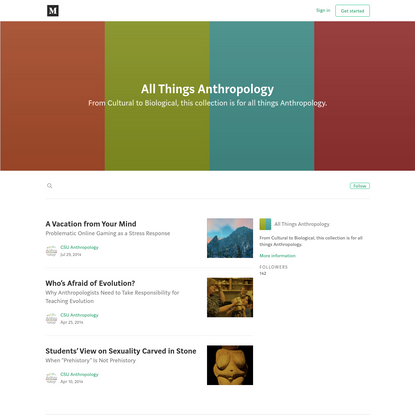 All Things Anthropology - Medium