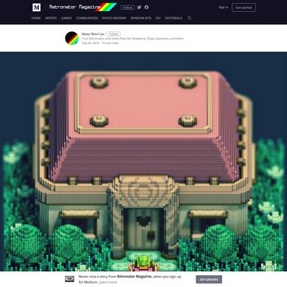Pixels and voxels, the long answer - Retronator Magazine - Medium