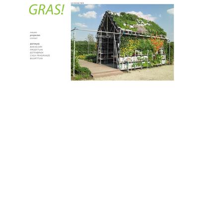 Projecten - Atelier gras - Eethuis, Proeftuin, Buurttuin