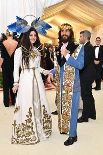 Lana Del Rey, Jared Leto at Met Gala 2018 (Heavenly Bodies)