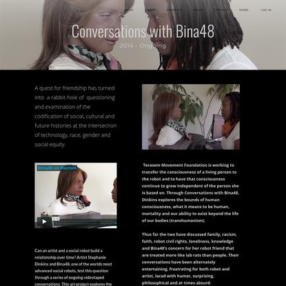 Conversations with Bina48