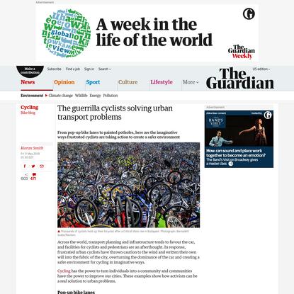 The guerilla cyclists solving urban problems | Kieran Smith