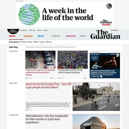 Bike blog | Environment | The Guardian