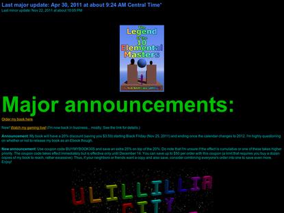 Ulillillia City - version 6.1