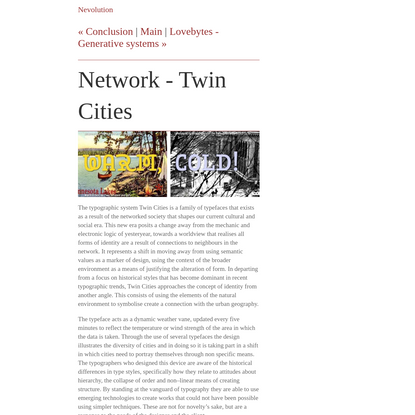 Network - Twin Cities
