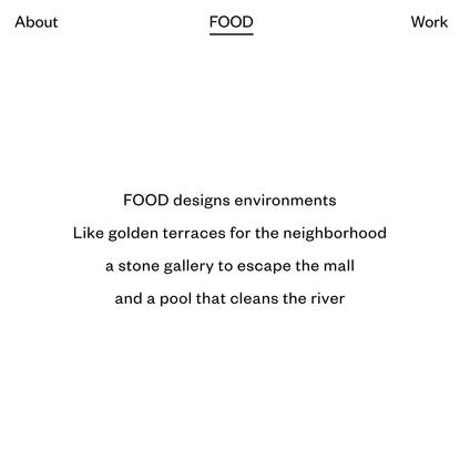 FOOD New York