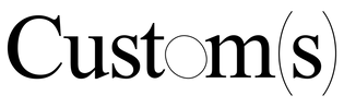 UNIT 16—Custom(s) logo