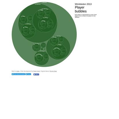 Wimbledon 2013 | Player bubbles