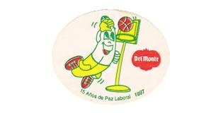 fruit sticker del monte sticker banana basketball