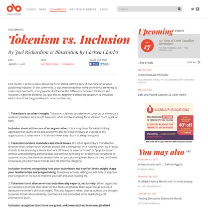 Tokenism vs. Inclusion