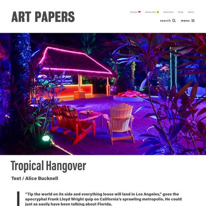 Tropical Hangover