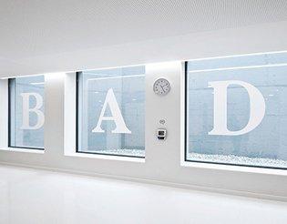 Dolomitenbad Signage on Behance