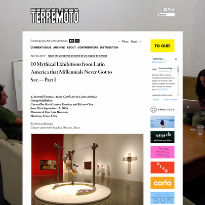 10 Mythical Exhibitions from Latin America that Millennials Never Got to See - Part I