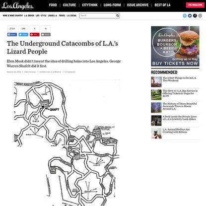The Underground Catacombs of L.A.'s Lizard People - Los Angeles Magazine