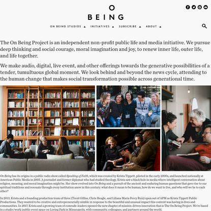 The On Being Project