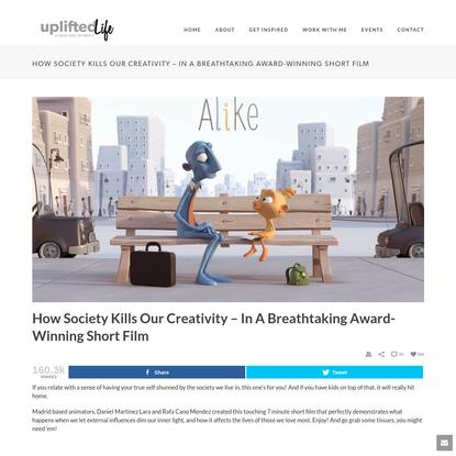 How Society Kills Our Creativity - In A Breathtaking Award-Winning Short Film