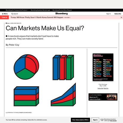 Can Markets Make Us Equal?