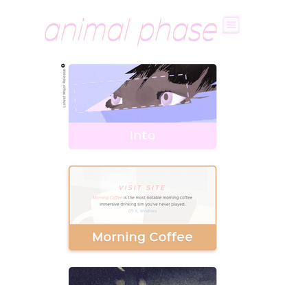 Animal Phase - personal interactive art label