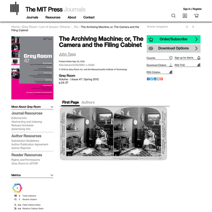 MIT Press Journals