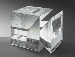 Libensky glass sculptures