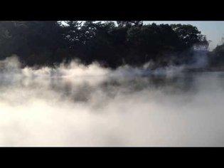 """fog sculpture"" by Fujiko Nakaya"