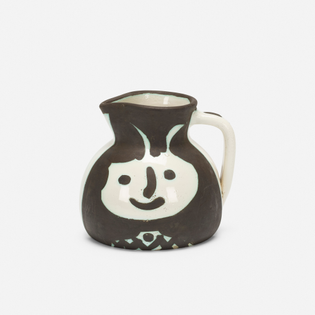 Pichet têtes by Pablo Picasso (Madoura Pottery)