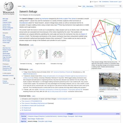 Jansen's linkage - Wikipedia