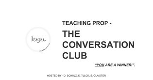 THE CONVERSATION CLUB - MANUAL 1.0