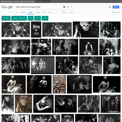 Häxan: Witchcraft Through the Ages - Google Search