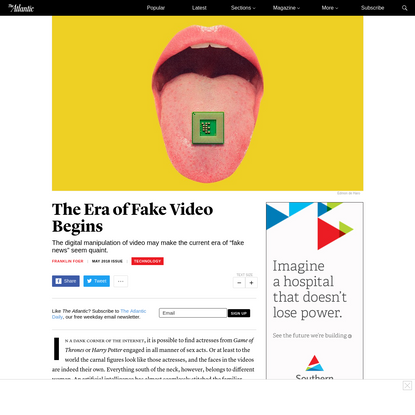 The Era of Fake Video Begins