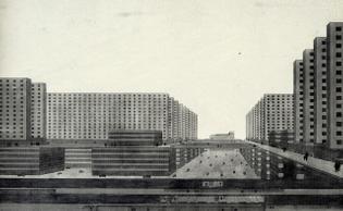 Hochhausstadt (Vertical City), Ludwig Hilberseimer, 1924