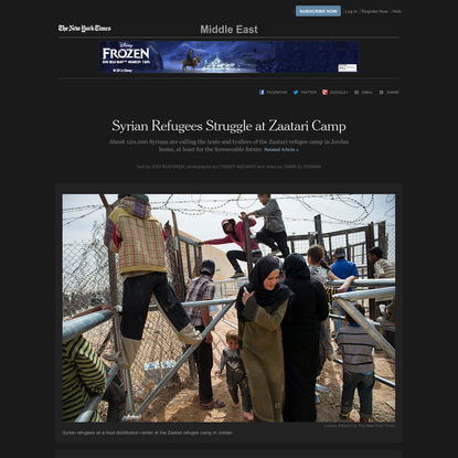 Syrian Refugees Struggle at Zaatari Camp