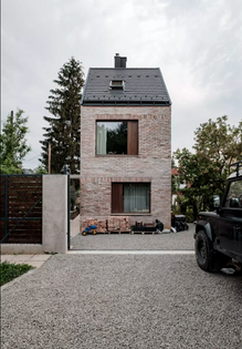 Épitesz Studio, Familiy House on Nedu Street, Budapest