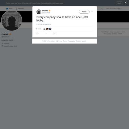 Daniel ⚡️ on Twitter
