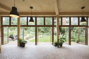 Phoenix Garden Community Centre, London (designed by Office Sian)