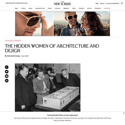 The Hidden Women of Architecture and Design